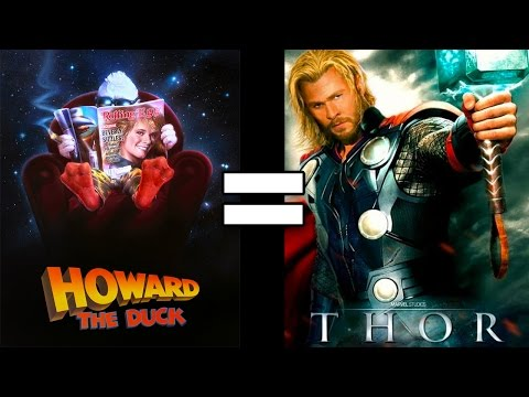 24 Reasons Howard The Duck & Thor Are The Same Movie