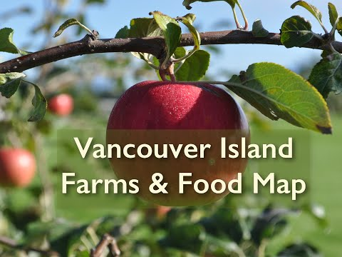Vancouver Island Farms & Food Map