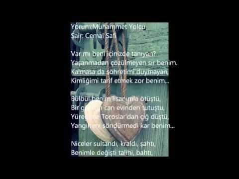Tek Hece (AŞK) Şiiri- Cemal Safi