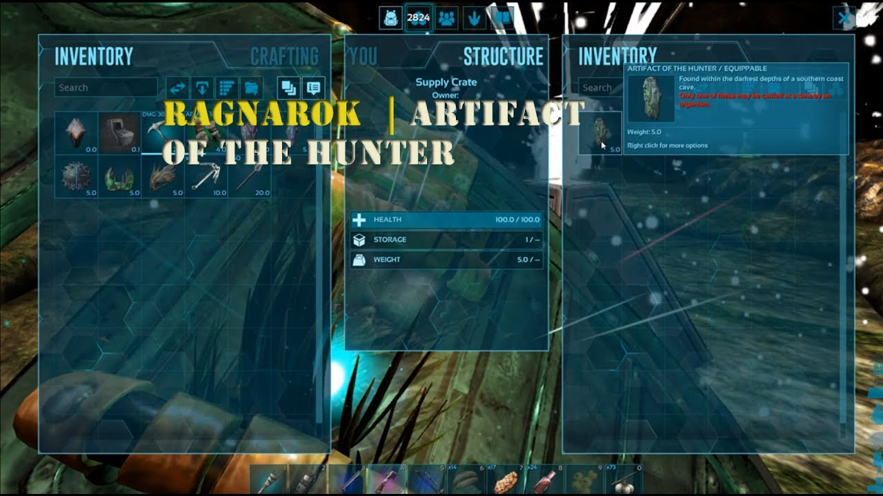Ark Ragnarok : Artifact of the Hunter and Jungle Dungeon