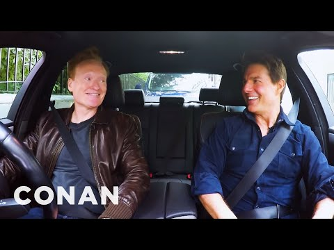 Conan Drives With Tom Cruise  CONAN on TBS
