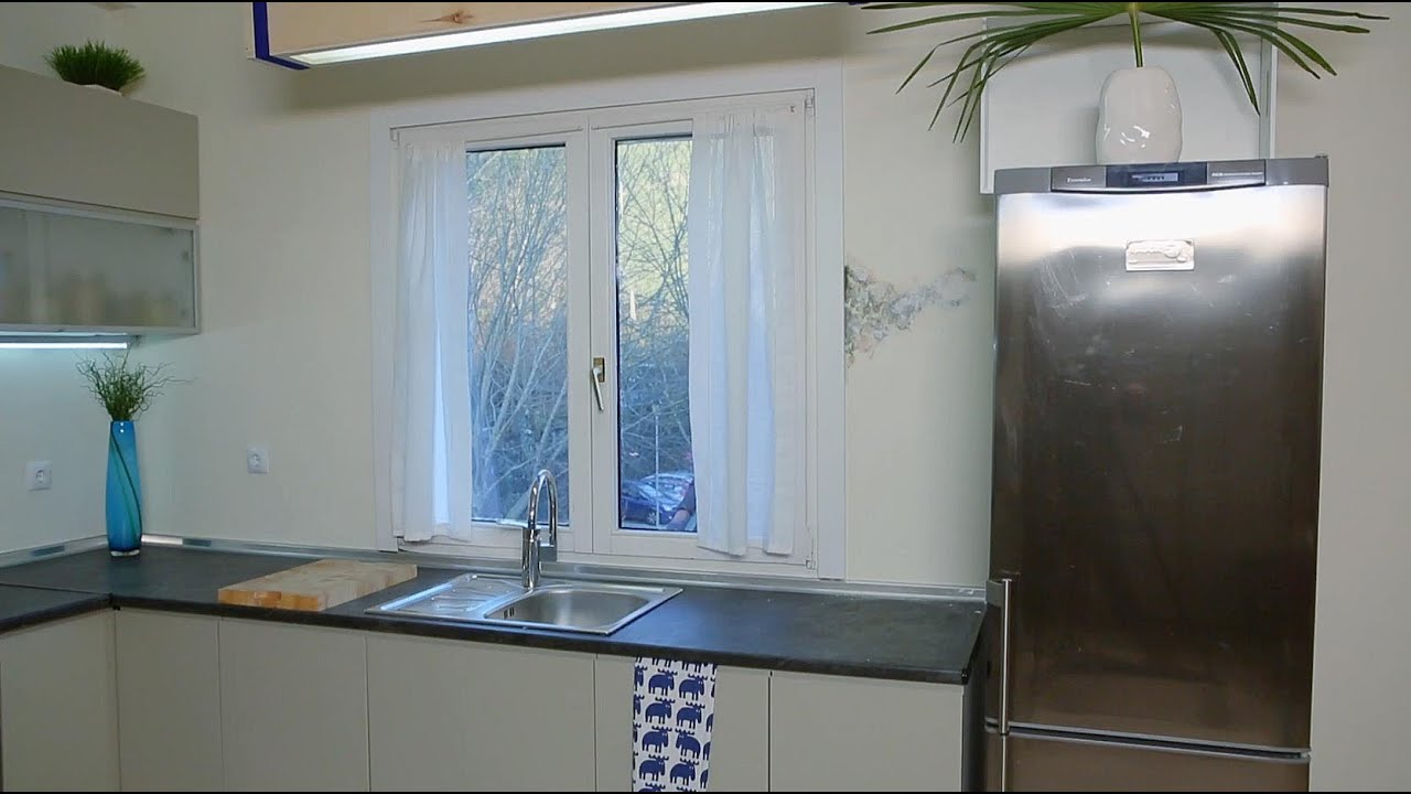 Eliminar humedad por condensaci n en pared de cocina youtube - Eliminar hormigas cocina ...