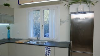 Eliminar humedad por condensación en pared de cocina