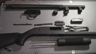 How to reassemble the Mossberg 590 shotgun