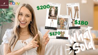WHAT SOLD ON POSHMARK & EBAY 2021 | What's selling right now + What brands sell best on Poshmark screenshot 3