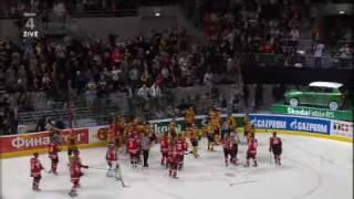 MS Hokej  - GER - SUI  Poslední vteřina utkání a závěrečná bitka
