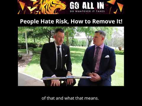 People Hate Risk, How to Remove It