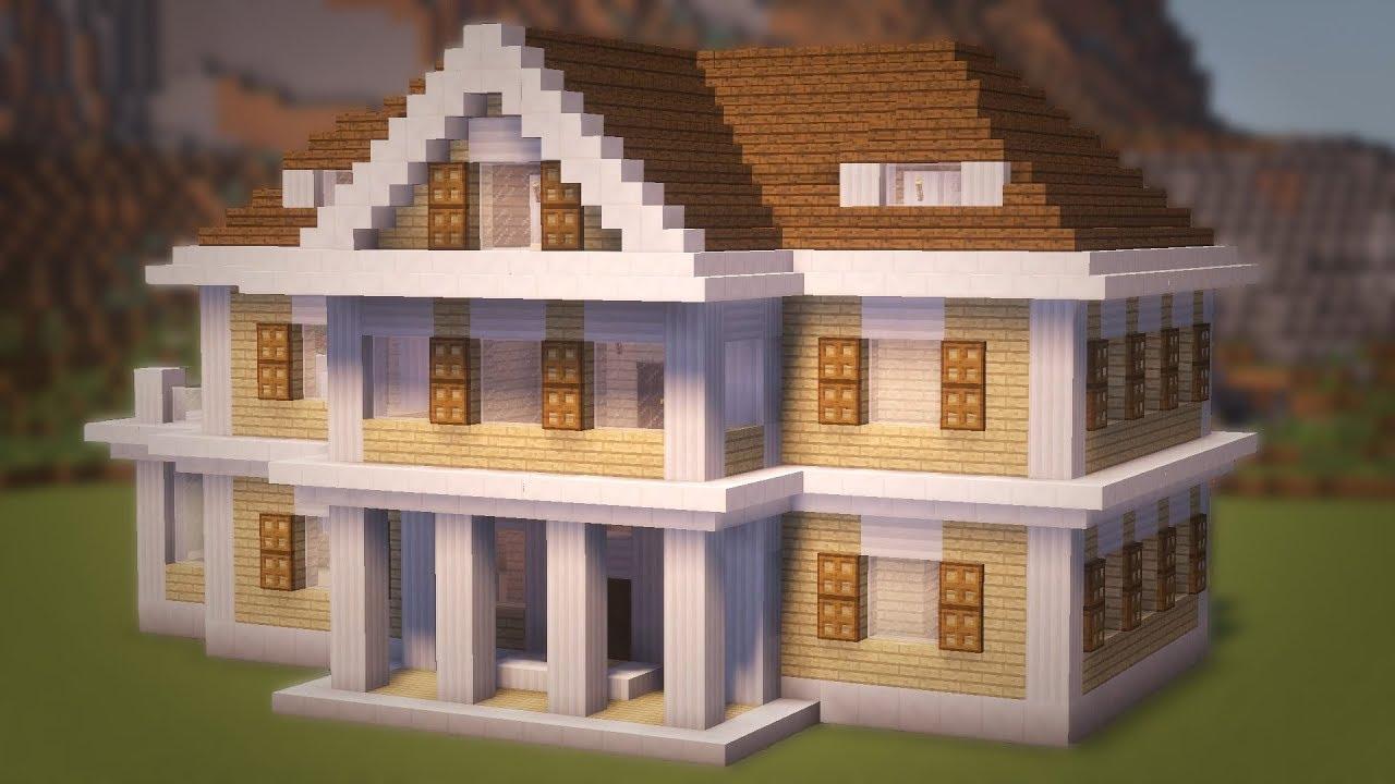 Картинки дом в майнкрафте