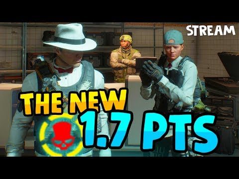 THE BRAND NEW 1.7 PTS - The Division 1.7 PTS Live Stream