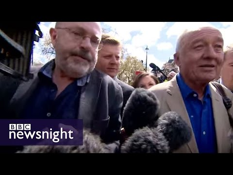John Sweeney asks Ken Livingstone: 'Why bring up Hitler?' - BBC Newsnight