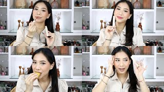 REVIEW & SWATCH HANASUI MATTEDORABLE LIP CREAM - Abel Cantika