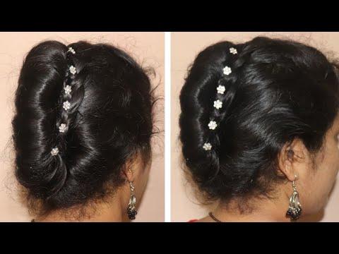 Very Easy French Roll Hairstyles For Party Hair Style Girl