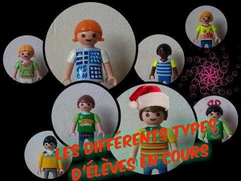 les diff rents types d 39 l ves en cours playmobil youtube. Black Bedroom Furniture Sets. Home Design Ideas