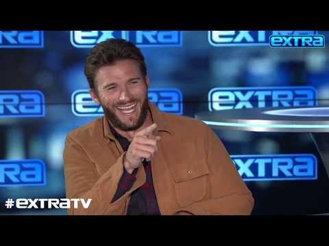 LOL! Watch Scott Eastwood Bust 'Extra's' Jenn Lahmers' Chops