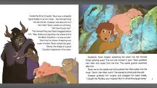 The Black Cauldron   Read Along Story book   Digital HD   Grant Bardsley   Freddie Jones   Disney