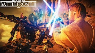 OBI-WAN KENOBI FIRST GAMEPLAY AND FULL GEONOSIS REVEAL! Star Wars Battlefront 2
