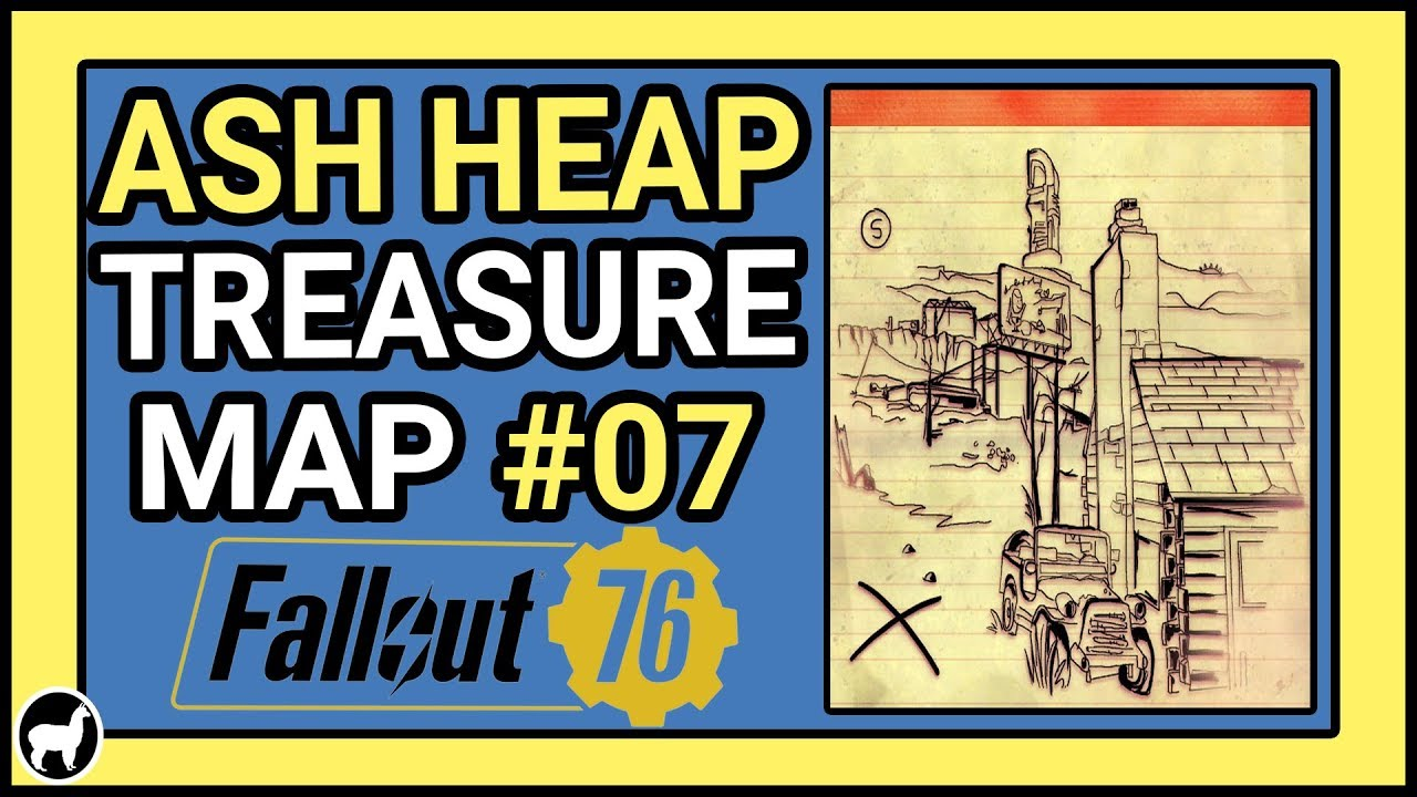 How to Solve Ash Heap Treasure Map #07   Fallout 76 Treasure Maps   Images Of Treasure Maps on cruise map, rail map, address map, eso craglorn map, ancient egyptian map, forest map, bad map, success map, alien map, blood map, ocean map, love map, monster map, money map, army map, old boston map, travel map,