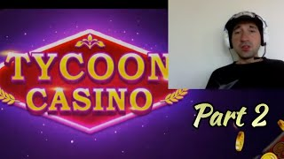 TYCOON CASINO Free Vegas Jackpot Slots P2 Mobile Game | Android / Ios Gameplay Youtube YT Video Leon screenshot 2