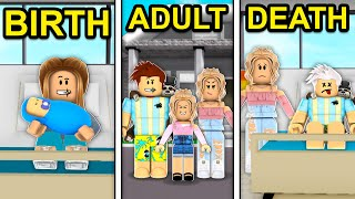 BIRTH to ADULT to DEATH in Roblox Brookhaven..