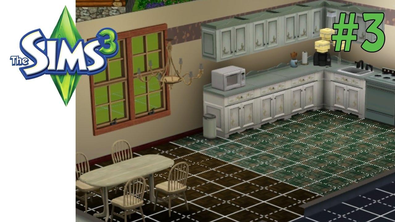 Sims 3 küche und esszimmer lets play 3