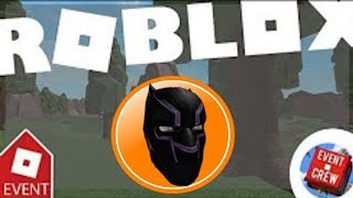 [EVENT] How to get Black Panther Mask | Roblox Catolog