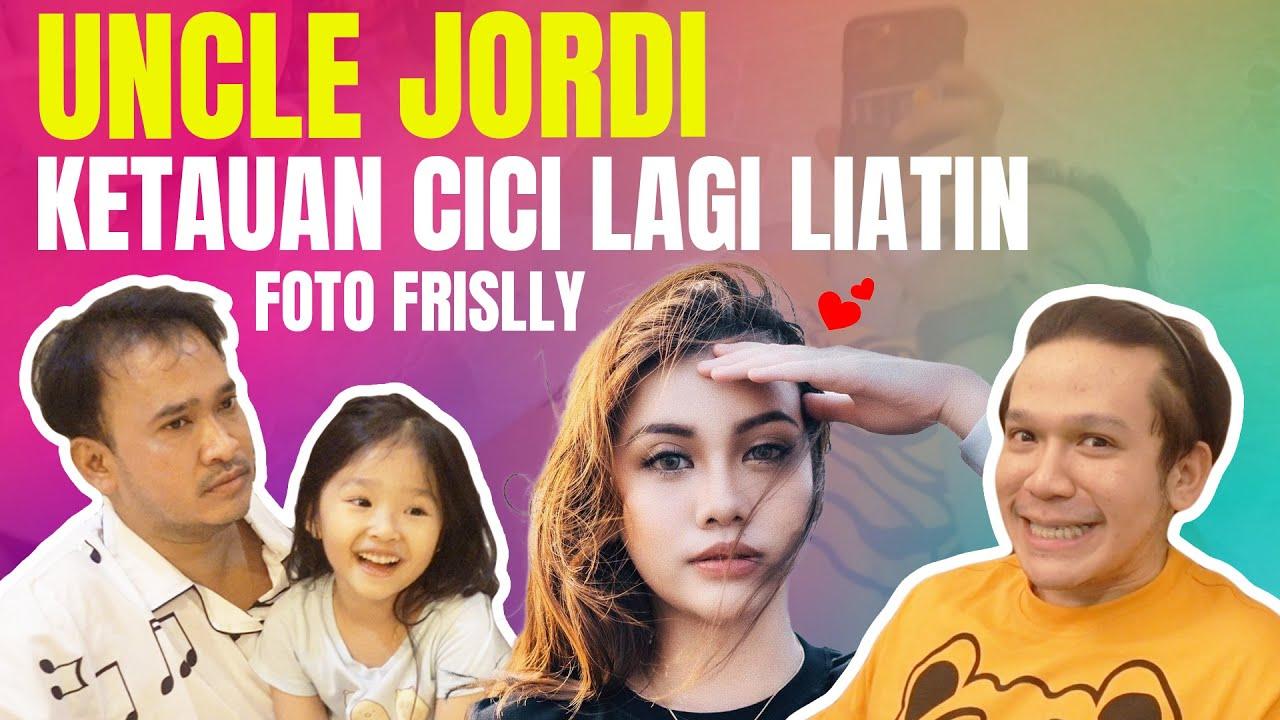 The Onsu Family - Uncle Jordi ketauan Cici lagi liatin foto Frislly