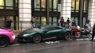 99% Audi crash Lamborghini