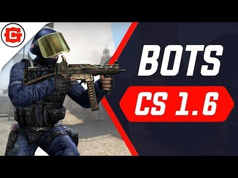 Как установить ботов в Counter-Strike 1.6?