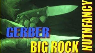 Gerber Big Rock: $25 Camp Knife