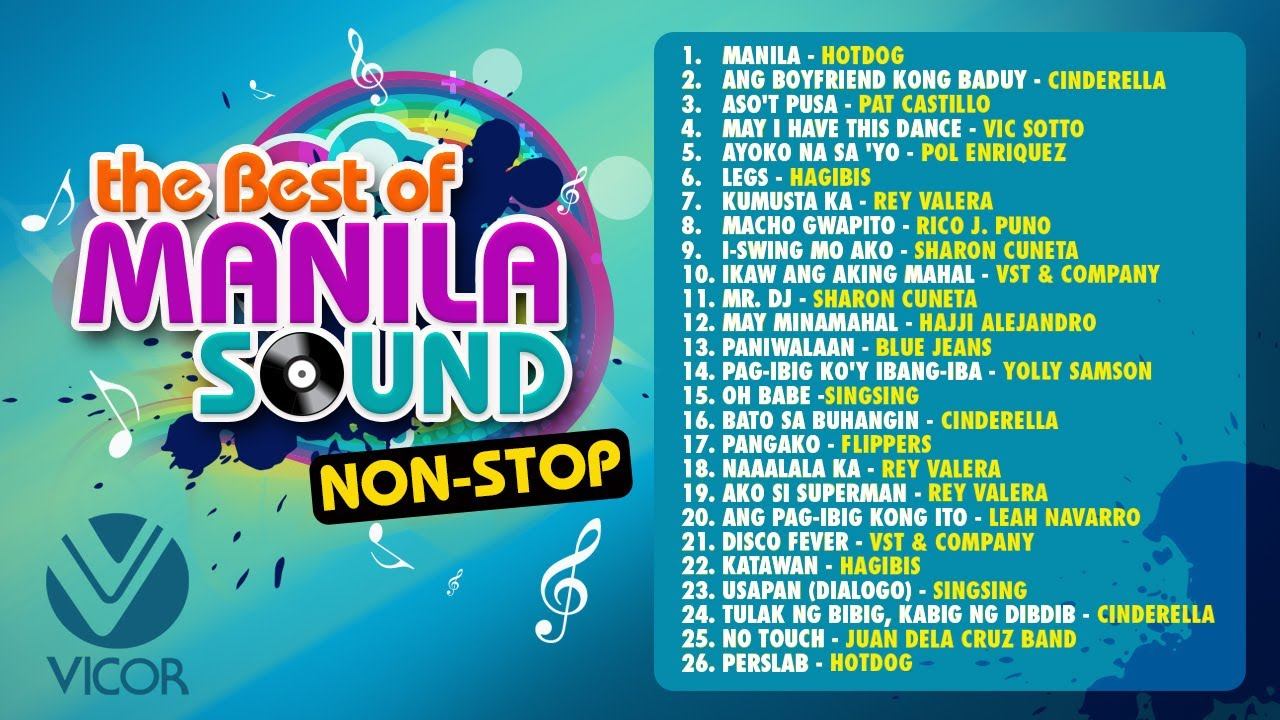 Various Artists The Best Of Manila Sound Non Stop