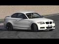 Stock BMW 135i Coupé Drift & Powerslides on Track!