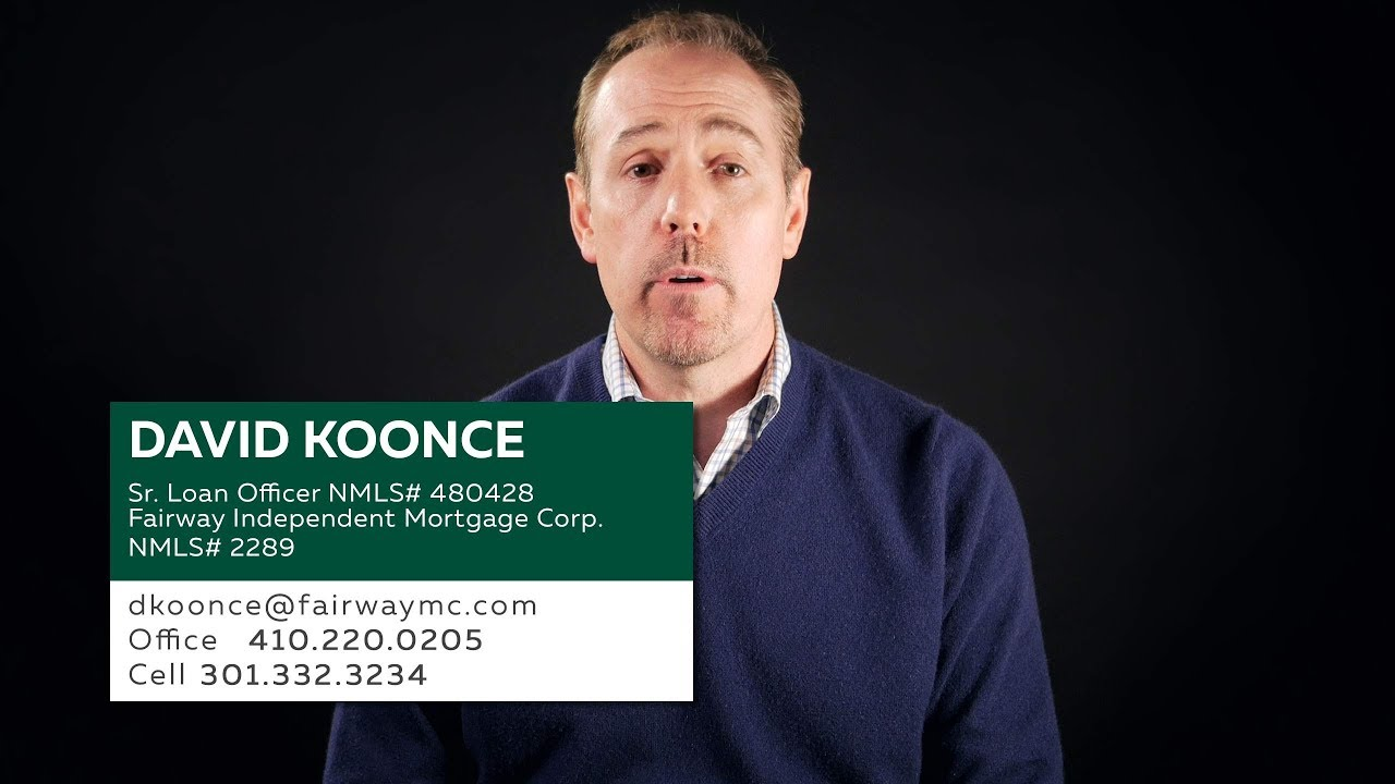 David Koonce - Mortgage Loan Officer in Maryland | Video Business ...