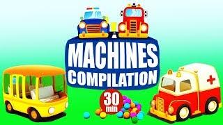 Compilation 30 Min: Dessins Animés Pour Enfants. Machines En Français