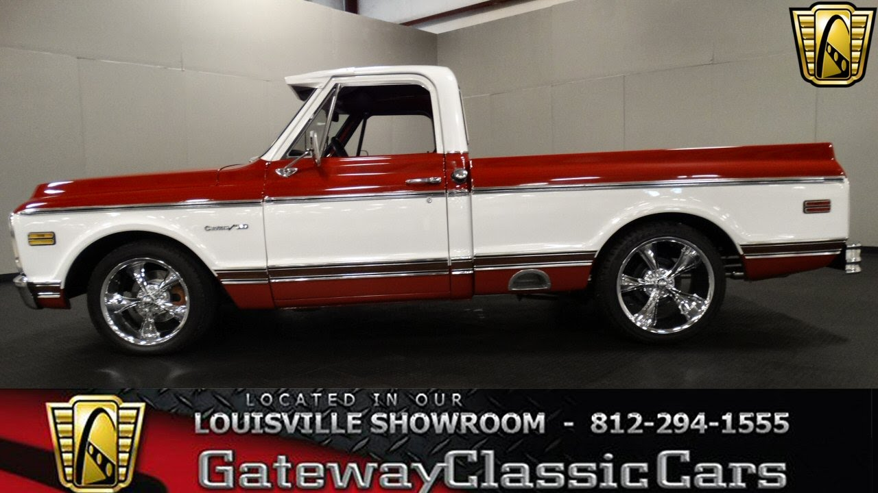 All Chevy 1969 chevy c10 for sale : 1969 Chevrolet C10 Pickup Truck - Louisville Showroom - Stock ...