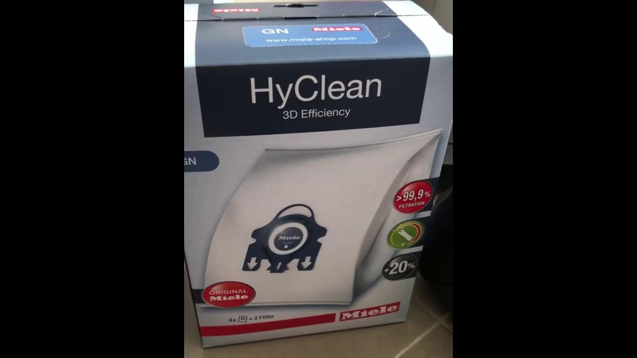 Filtres pour Complet C2 C3 Powerline Silence Ecoline Pour Miele Gn Hoover Sacs