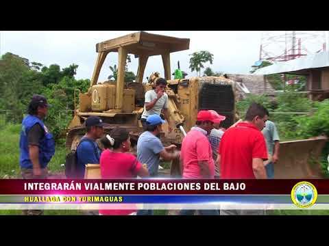 INTEGRARÁN VIALMENTE POBLACIONES DEL BAJO HUALLAGA CON YURIMAGUAS