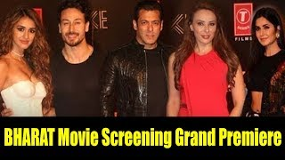 Bollywood Celebs Attend The BHARAT Movie Screening  Grand Premiere   Daisy Shah, Mouni Roy
