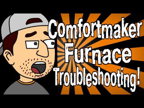 Comfortmaker Furnace Troubleshooting - YouTube