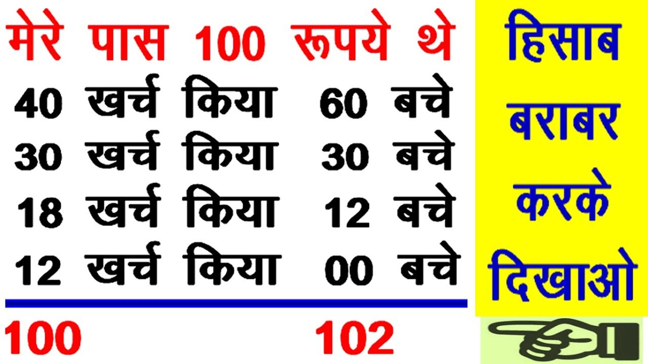 Logical Hindi पहेली Puzzles and Riddles Question Answer! Math Puzzles Logical GK Question Answer