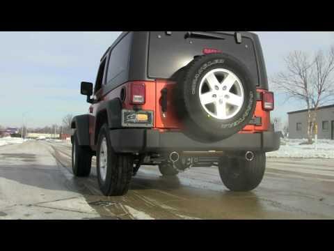 2007-2017 Jeep Wrangler Performance Exhaust System Kit Corsa dB 24412