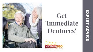 Now Trending - An insight by Dr. Gordon Kent on 'Immediate Dentures' – also known as 'Healing Dentures'