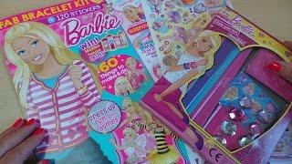 Mattel Barbie doll Comic Magazine with free Bracelet Set Kit Issue 320