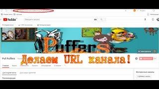 Как поменять URL канала ∞