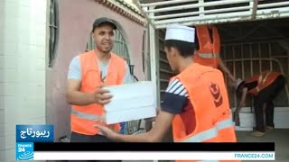الجزائر - العمل التطوعي للكشافة في شهر رمضان
