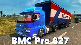 Euro Truck Simulator 2 {1.26}. Обзор мода: BMC Pro 827. (Ссылка в описании)