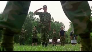 Майор Пейн знакомится с кадетами часть 1 ... отрывок из фильма (Майор Пейн/Major Payne)1995