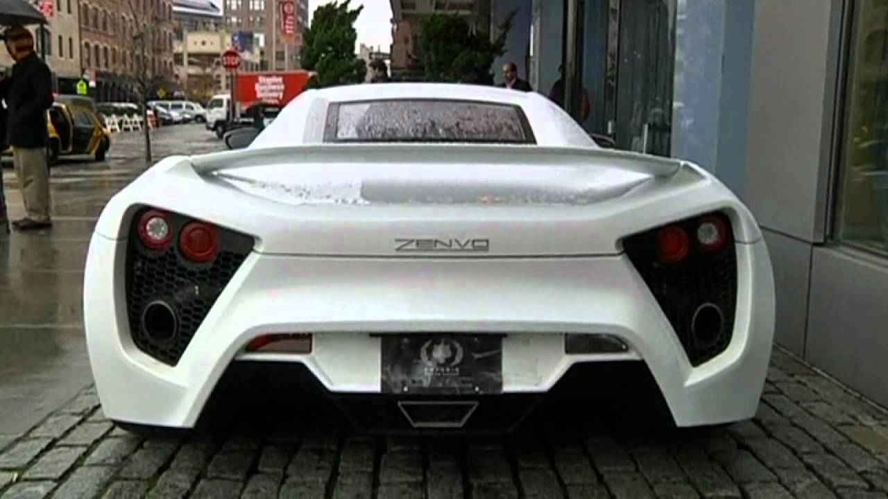 1,250 HORSEPOWER: Zenvo ST1 goes 0 - 60 in 2.9 seconds - YouTube