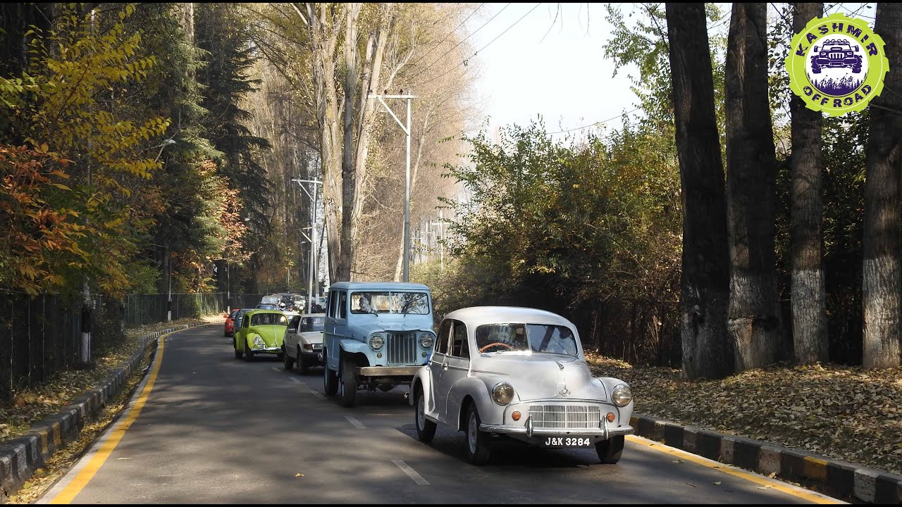 Vintage & Classic Car Rally In Kashmir | Vintage cars | Kashmir Off Road