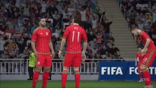 FIFA 16 - UEFA Euro 2016 - England vs Wales | Gameplay (HD) [1080p60FPS]