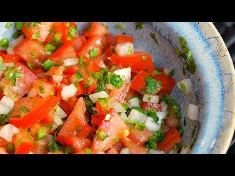 Easy Homemade Pico de Gallo Recipe - How to Make Fresh Pico De Gallo